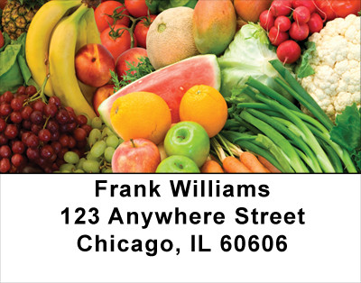 Farmers Market Address Labels | LBFOD-37