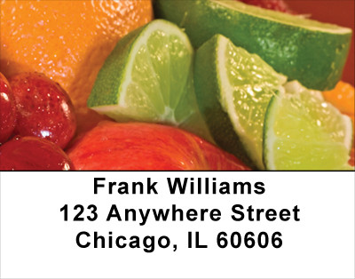 Luscious Fruits Address Labels | LBFOD-39