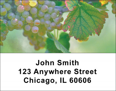 Grapes Address Labels | LBFOD-45