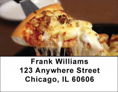 Pizza Address Labels | LBFOD-48