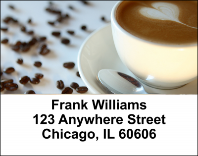 Cup of Joe Address Labels | LBFOD-55