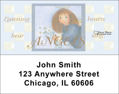 Angels Address Labels by Lorrie Weber | LBJHS-01