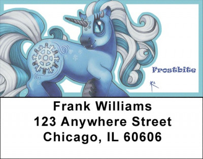 Unicorns - My Little Demon Address Labels | LBMLD-11