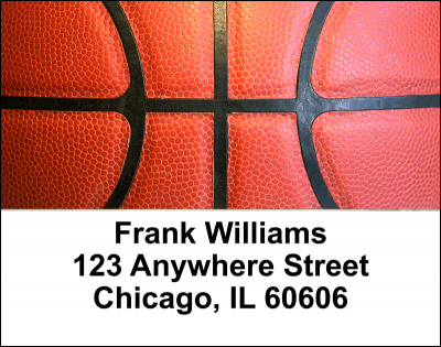 Basketball Address Labels | LBSPO-91