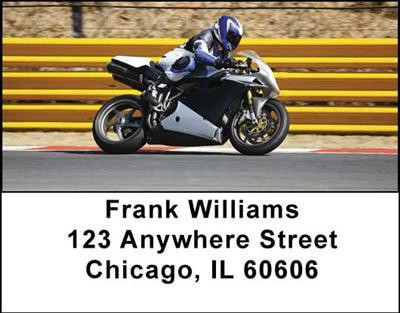Superbikes Address Labels | LBTRA-10