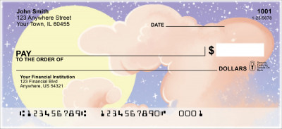 Celestial Clouds Personal Checks | MCL-05