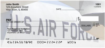 On Metal Air Force Personal Checks | MIL-21