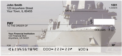USS New York Personal Checks | MIL-64