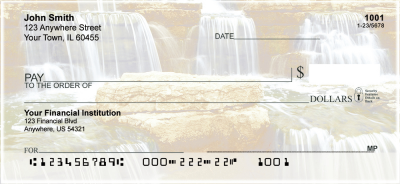 Waterfalls Personal Checks | NAT-12