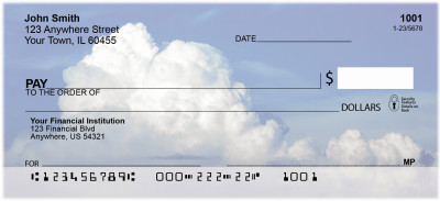 Clouds in the Sky Personal Checks | NAT-B4