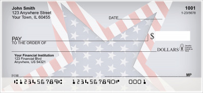 Celebrate Stars and Stripes Personal Checks | PAT-38