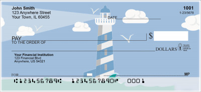 Splendid Lighthouse Personal Checks | SCE-001