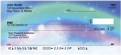 Rainbow Moments Personal Checks | SCE-53