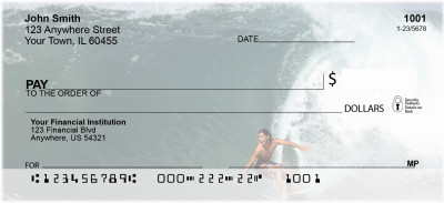 Extreme Surfing Personal Checks | SPO-59