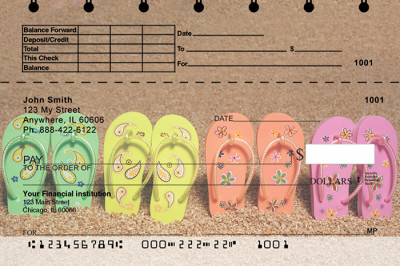 Flip Flop Top Stub Checks | TSBEA-01