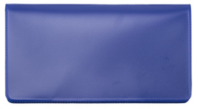 Royal Blue Vinyl Checkbook Cover | VCB-BLU01