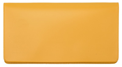 Sunburst Orange Vinyl Checkbook Cover | VCB-ORG01
