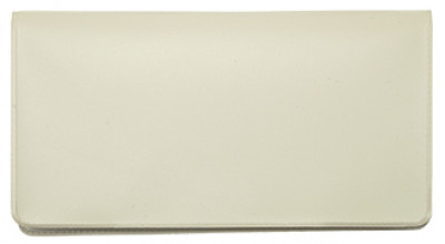Beige Vinyl Checkbook Cover | VCB-TAN01
