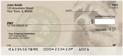 Wildlife In Crisis Personal Checks | WIC-01
