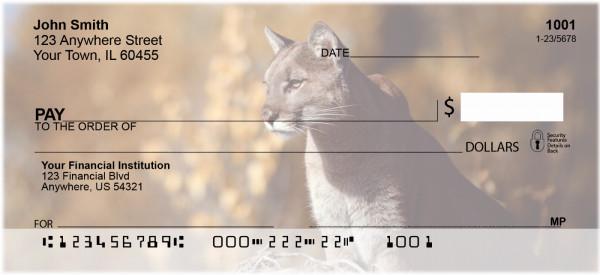 Cougars Personal Checks