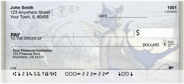 Fairy Messenger Personal Checks | ANK-10