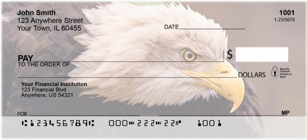 American Eagles Personal Checks | ANK-12