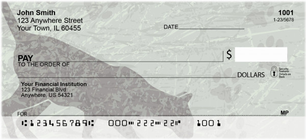 Alley Cats Personal Checks