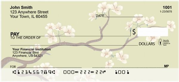 Cherry Blossoms Personal Checks