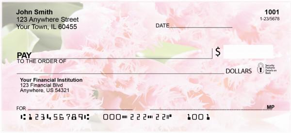 Floral Bouquet Personal Checks