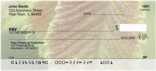 Amazing Leaves Personal Checks