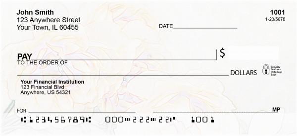 Rose Sketches Personal Checks