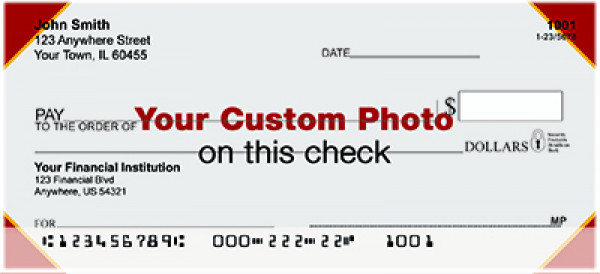 Custom Photo Checks | CUS-01