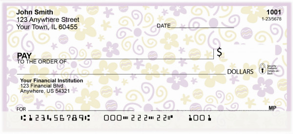 Summer Breeze by Deb Eiseman Personal Checks | DEB-04