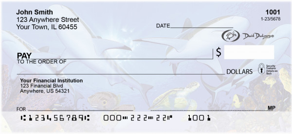 Creature Feature Personal Checks by David Dunleavy