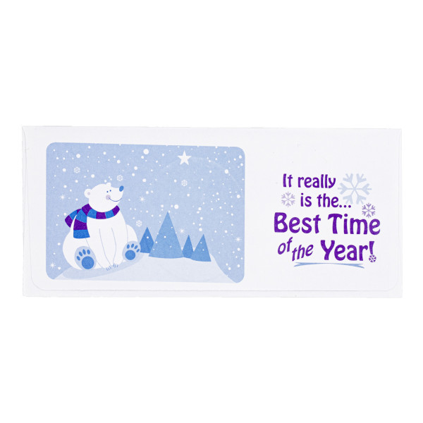 Polar Bear Gift Envelope | ENV-CCG03