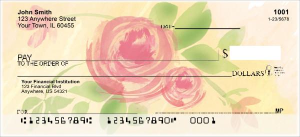 Forever Roses Personal Checks
