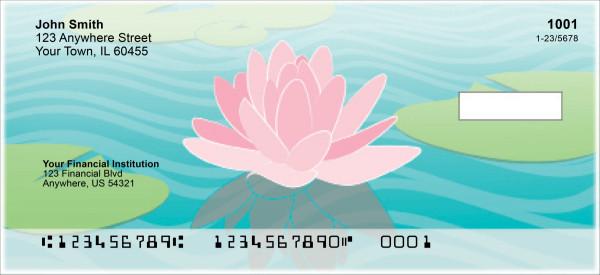 Water Lilies Personal Checks