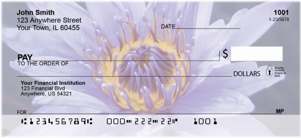 Colors In Bloom Personal Checks