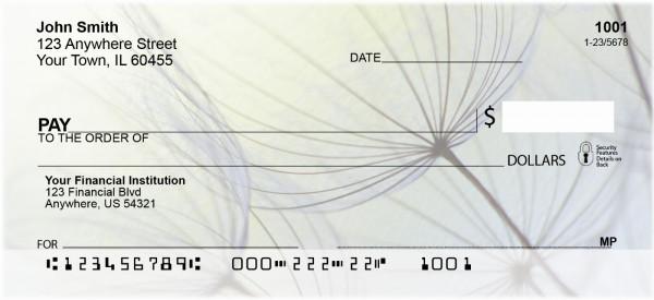 Dandelion Personal Checks