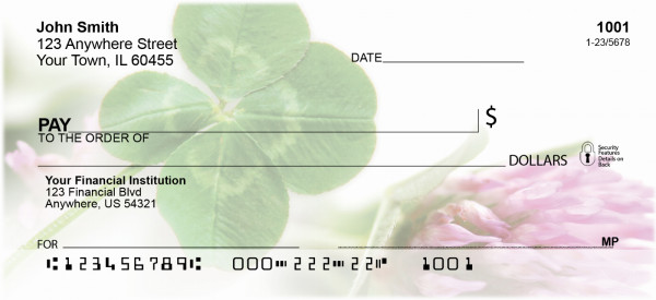 Clovers Personal Checks