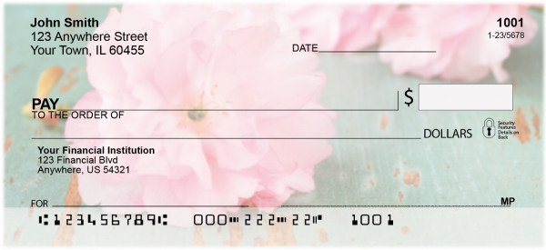 Springtime In The Orient Personal Checks