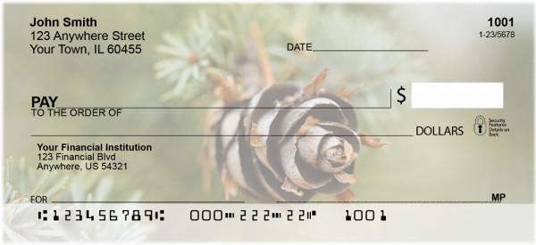 Pinecones A Plenty Personal Checks
