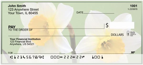 Dreamy Daffodils Personal Checks