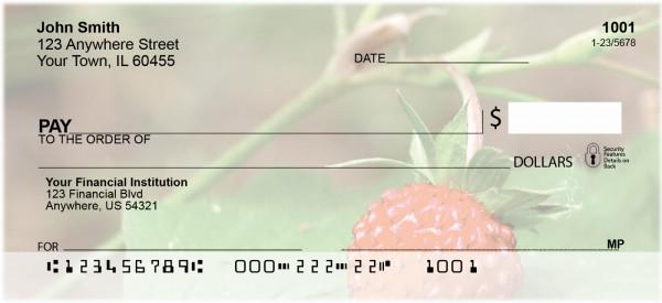 Bloomin' Strawberries Personal Checks