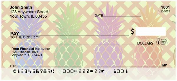 Pineapples Personal Checks