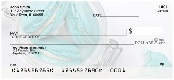 Macarons Personal Checks