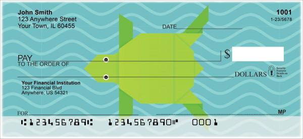 Origami Personal Checks
