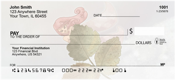 Fairy Fun Personal Checks | FUN-26
