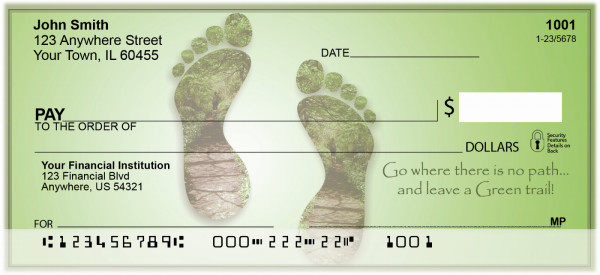 Leave A Green Trail Personal Checks