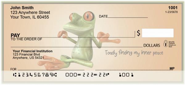 Toadly Zen Personal Checks